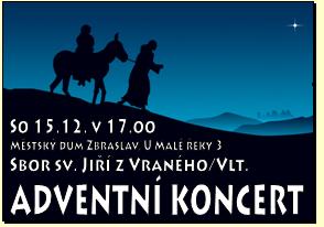 Adventní koncert Zbraslav, Praha 5